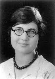 black and white photo of Betty Stam