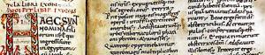 Old Latin Latin Vulgate Bible manuscript